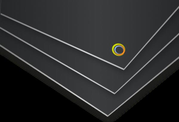 Polystyrolplatte, 0,5 mm
